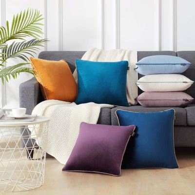 Amazon : 2 Soft Dark Purple Throw Pillow Covers Just $5.25 W/Code (Reg : $20.99) (As of 1/16/2020 11.46 AM CST)