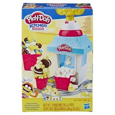 Walmart: Play-Doh Kitchen Creations Popcorn Party Play Food Set W/6 Cans For $6.97 (Was $15) + Store Pickup.