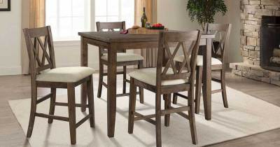 Counter-Height 5-Piece Dining Set Only $199 Shipped at Sam's Club (Regularly $500)