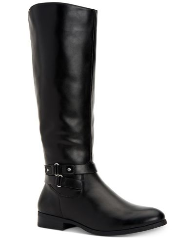 MACY'S: Style & Co Kindell Wide-Calf Tall Boots, JUST $17.37 (Reg $69.50)