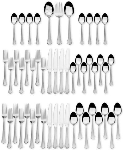 MACY'S: International Silver Stainless Steel 51-Pc. Capri Frost Finish, Service for 8, JUST $42.49 (Reg $80.00) with code WINTER
