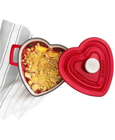 MACY'S: Martha Stewart Enameled Cast Iron 2-Qt. Heart-Shaped Casserole, JUST $39.99 (Reg $99.99) with code YAY