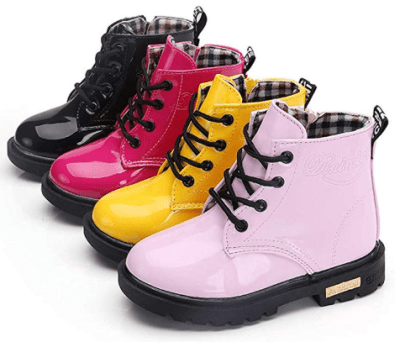 Amazon : Girl's Boy's Waterproof Side Zipper Lace-Up Ankle Boots Just $17.88 W/Code (Reg : $35.76) (As of 1/27/2020 7.55 PM CST)