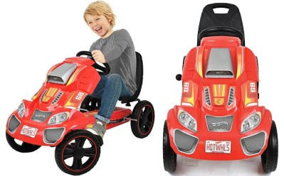 Walmart: Hot Wheels Speedster Go Kart Ride-On for ONLY $59 (Reg $129) + FREE Shipping