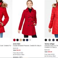 Macy's : 50% & More Jacket Sale !
