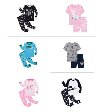 Amazon : Pajama's For Kids Just $4.49 to $6.29 W/Code (Reg : $20.99) (As of 1/16/2020 1.55 PM CST)