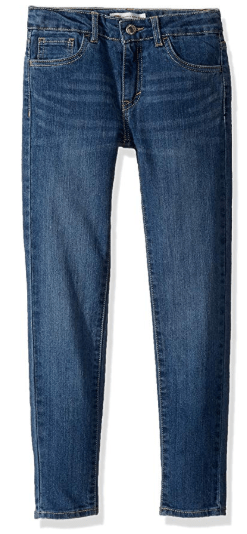 Amazon : Levi's Girls' 710 Super Skinny Fit Classic Jeans Just $10.18 W/$0.51 Off Coupon (Reg : $40) (As of 1/28/2020 8.30 PM CST)