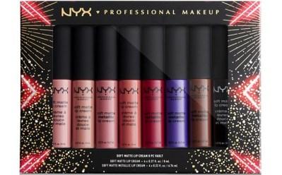 MACY'S: NYX Lip Cream 8-Piece Set ONLY $19 at Macy's (Reg $38) – That's $2.38 Each!