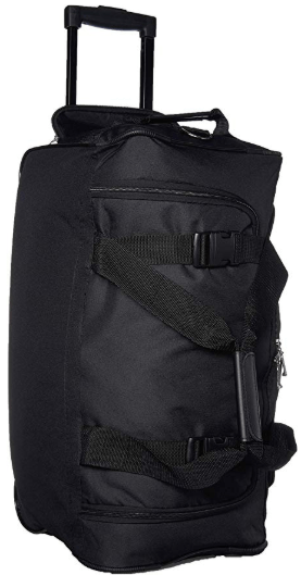 Amazon : Rockland Luggage Rolling 22 Inch Duffle Bag, Black, One Size Just $19.99 (Reg : $69) (As of 1/27/2020 7.42 PM CST)