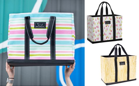 SCOUT Bags Deano Totes ONLY $19.99 at Zulily (Reg $44) – More Than 20 Designs!