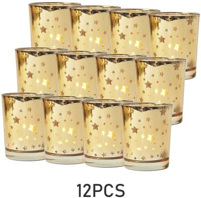 Amazon : Set of 12, Mercury Bulk Glass Tealight Candle Stands Just $14.99 W/50% Off Coupon (Reg : $29.99) (As of 1/24/2020 5.42 AM CST)