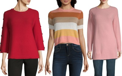 Sweaters & Leggings Starting at JUST $5 at JCPenney (Reg $34) – Today Only!