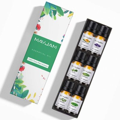 Amazon : Top 6 100% Pure Therapeutic Aromatherapy Oils Gift Set-6 Pack/10ml Just $4.99 W/Code (Reg : $9.98) (As of 1/16/2020 9.40 PM CST)