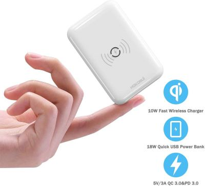Amazon : Wireless Portable Chargers 10000mAh Just $8.20 W/Lightening Deal + 35% Off Coupon (Reg : $9.99) (As of 1/22/2020 8.28 PM CST)