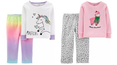 Carter's : Pajamas Sets & Nightgowns From JUST $5.39 (Regularly $22) – Today Only!