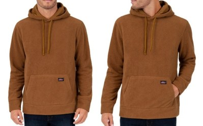 Walmart: Dickies Men's Sherpa Pullover Hoodies for JUST $10 (Regularly $20)