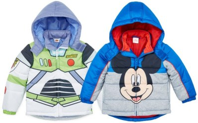 JCPenney : Disney Puffer Jackets From Just $22 + FREE Pickup (Reg $120)