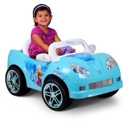 Walmart: Disney Frozen Convertible Car 6-Volt Battery-Powered Ride-On ONLY $79 (Reg $199) + FREE Shipping