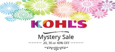 Kohls Mystery Promo Code Released