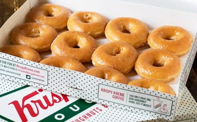 FREE Krispy Kreme Original Glazed Dozen with Any Dozen Purchase (Rewards Members)