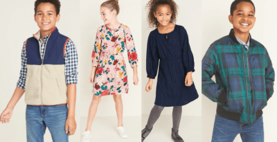Old Navy : Extra 40% Off Clearance Items (Today & Online Only) – Starting at $1.78!