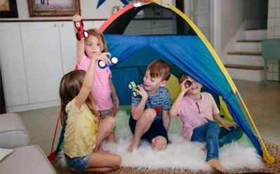 WALMART: Super Duper 4-Kid Play Tent JUST $14.99 at Walmart (Regularly $47.50)