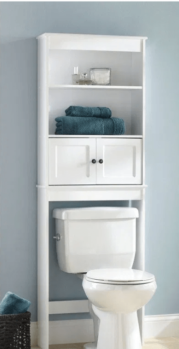 Chapter Over the Toilet Bathroom Storage Space Saver for $36.80 (reg: $69.97)