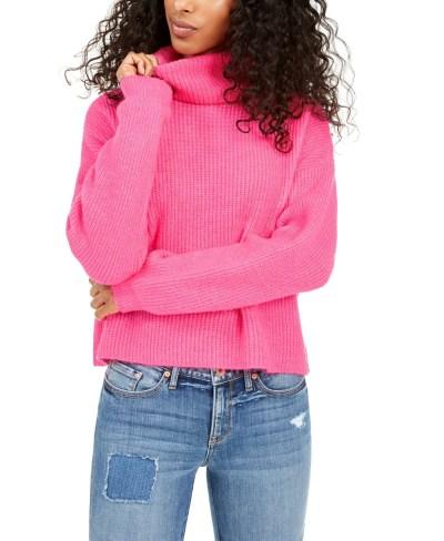 MACY'S: Turtleneck Sweater $18 + Store Pickup.
