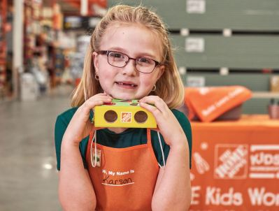 Home Depot Children's Workshop: Register for Free Binoculars on 7th March