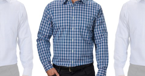 Kirkland Signature Men's Tailored Dress Shirts Only $9.97 Shipped On Costco (Regularly $19)