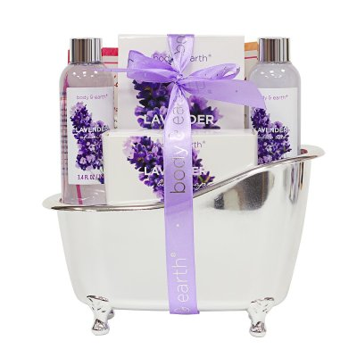 Amazon : Lavender Scented 4 Pcs Home Spa Gift Kit Just $8.49 W/Code (Reg : $16.99) (As of 2/11/2020 8.41 PM CST)