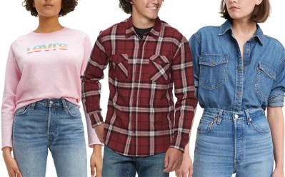 KOHL'S: Levi's Clothing Up to 80% Off (Starting at ONLY $4.80!)