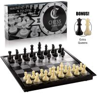 Amazon : Magnetic Travel Chess Set Folding Board Game with Extra Queens and Storage for Pieces Just $5.59 W/Code + Lightening Deal + 20% Off Coupon (Reg : $16.99) (As of 2/17/2020 5.30 AM CST)