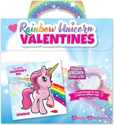 Amazon : Rainbow Unicorn Valentine's Cards (28-Count) Just $2.99 (Reg : $11.95)