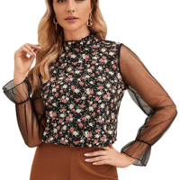 Amazon : Women's Elegant Bow Tie Neck Long Sleeve Solid Work Shirt Blouse Top Just $5.99 - $6.99 W/Code (Reg : $19.98 - $23.30) (As of 2/17/2020 3.16 PM CST)