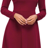 Amazon : Women's Elegant V Neck Long Sleeve Casual A-Line Swing Dress Just $9.80 W/Code (Reg : $27.99) (As of 2/16/2020 2.50 PM CST)