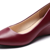 Amazon : Women's Wedge Pumps Round Toe- Classic Mid Heel Dress Shoes Just $15.99 - $16.50 W/Code (Reg : $32.99) (As of 2/27/2020 9.25 AM CST)