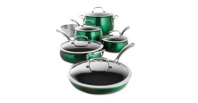 MACY'S: Belgique Aluminum 11-Pc. Cookware Set $99.93 ($299.99)