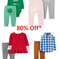 80% Off Carter's Clothing on JCPenney
