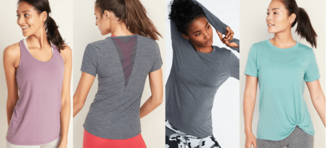 Old Navy 50% Off Activewear for the Family (Starting at JUST $4.97) – TODAY Only!