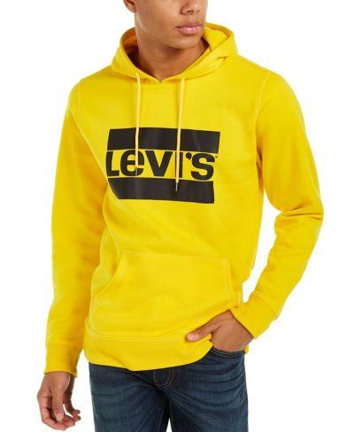 MACY'S: Levi's Men's Burndlen Fleece Logo Hoodie (Reg $59.50) with code FLASH