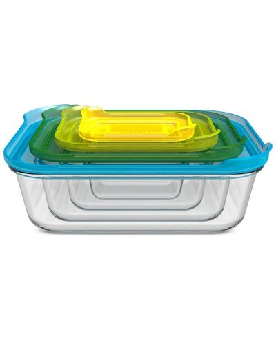 MACY'S: Joseph Joseph 8-Pc. Nesting Glass Container Set, Just $23.99 (Reg $49.99) with code PREVIEW