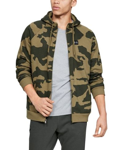 MACY'S: Under Armour Men's Rival Fleece Camo Zip Hoodie, Just $23.93 (Reg $60.00)