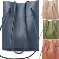 Amazon : Leather Bucket Bag Medium Square Hobo Purses Dual Top Handles Handbag Just $14.10 W/Code (Reg : $46.99) (As of 3/30/2020 9.10 AM CST)