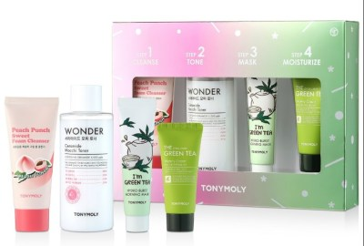 MACY'S: TONYMOLY 4-Piece Skin Care Set Only $14 at ($39 Value)
