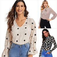 Amazon : Women's Elegant Ruffle Trim Contrast Mesh Pleated Long Sleeve Blouse Just $6.06 W/Code (Reg : $23.30) (As of 3/29/2020 3.50 PM CST)