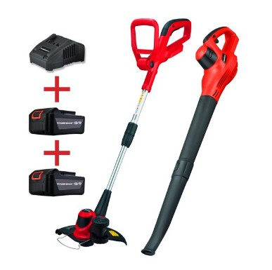 WALMART: PowerSmart 18V Lithium-Ion Cordless String Trimmer and Blower Combo Kit Now $69.99