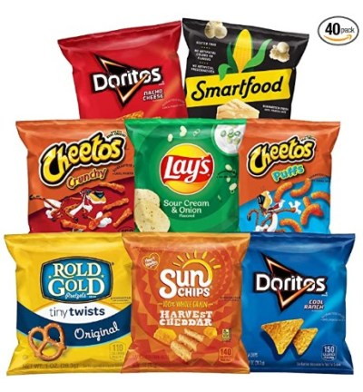 AMAZON: Frito-Lay Fun Times Mix Variety Pack, 40 Count – GREAT DEAL!!!