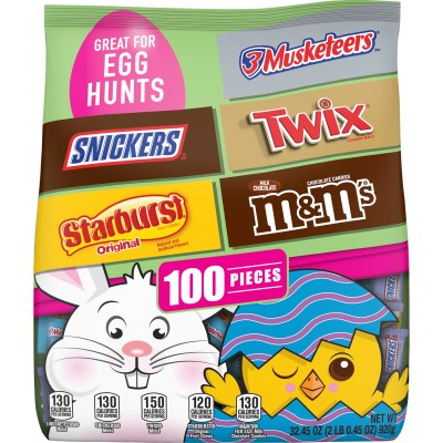 WALMART: HUGE Easter Candy Bag (M&M's, Twix, Snickers, Starburst) JUST $9.98