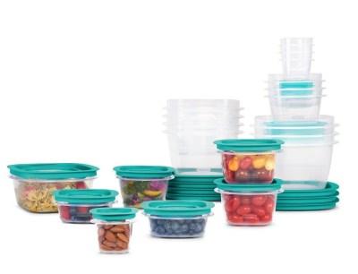 WALMART: SALE! Rubbermaid Press & Lock Easy Find Lids Food Storage Containers, 42-Piece Set $17.99 (Reg $39.99)